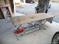 Fabrication d'une table élévatrice pour moto et décolleuse à pneu