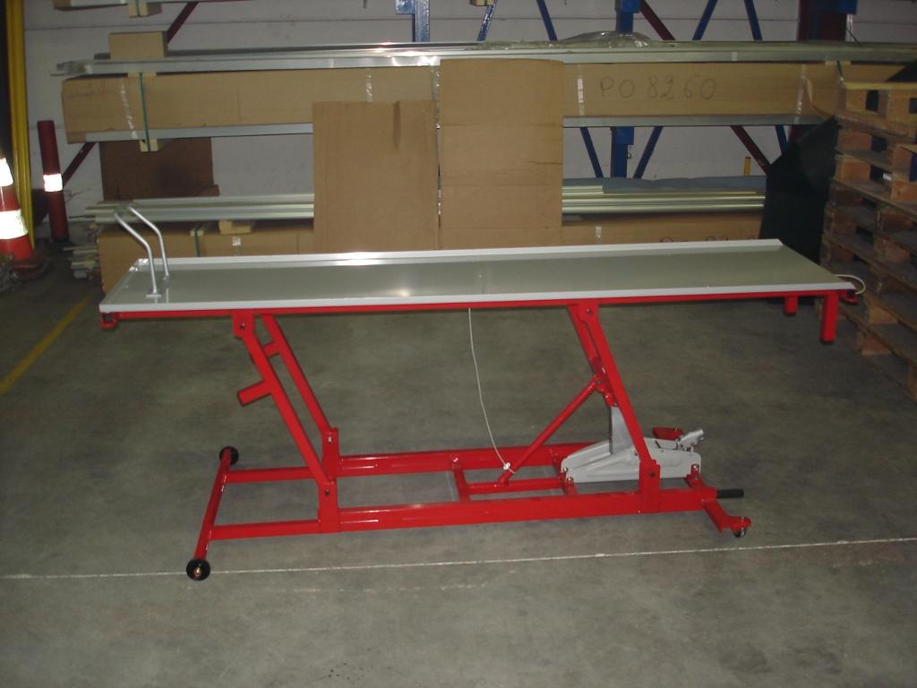 Galerie - Fabriquer une table elevatrice moto ...